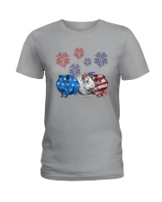 Us Independence Day Guinea Pigs Shirt Ladies T-Shirt thumbnail