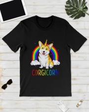 Rainbow Corgicorn Shirt Classic T-Shirt lifestyle-mens-crewneck-front-17