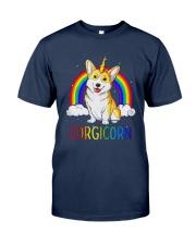 Rainbow Corgicorn Shirt Classic T-Shirt tile
