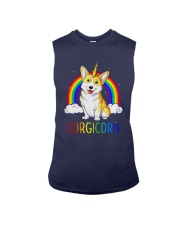 Rainbow Corgicorn Shirt Sleeveless Tee thumbnail