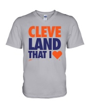Gv Art Cleveland That I Love Shirt V-Neck T-Shirt thumbnail