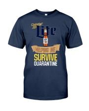Miller Lite Helping Me Survive Quarantine Shirt Classic T-Shirt tile