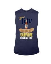 Miller Lite Helping Me Survive Quarantine Shirt Sleeveless Tee thumbnail