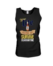Miller Lite Helping Me Survive Quarantine Shirt Unisex Tank thumbnail