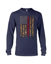 Leopard Red Line Shirt Long Sleeve Tee thumbnail