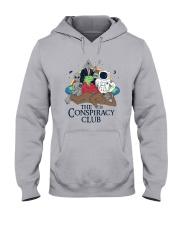 The Conspiracy Club Shirt Hooded Sweatshirt thumbnail