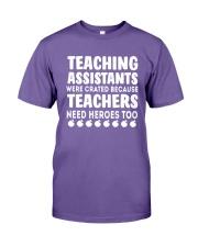 Teacher Assistants Were Created Teachers Shirt Premium Fit Mens Tee thumbnail