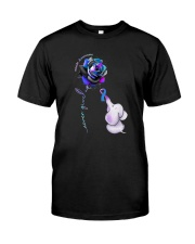 Rose Never Give Up Suicide Awareness Shirt Classic T-Shirt front