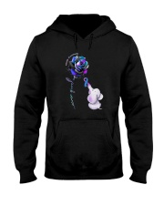 Rose Never Give Up Suicide Awareness Shirt Hooded Sweatshirt thumbnail