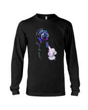 Rose Never Give Up Suicide Awareness Shirt Long Sleeve Tee thumbnail