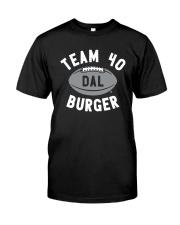 Team 40 Burger Shirt Classic T-Shirt front