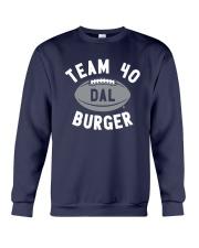 Team 40 Burger Shirt Crewneck Sweatshirt thumbnail