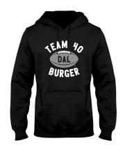 Team 40 Burger Shirt Hooded Sweatshirt thumbnail