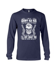 I'm A Grumpy Old Man I'm Too Old To Fight Shirt Long Sleeve Tee thumbnail