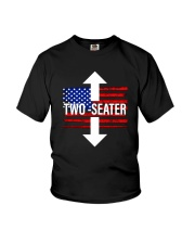 Trump Rally United States Two Seater Shirt Youth T-Shirt thumbnail