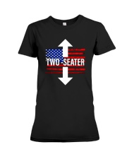 Trump Rally United States Two Seater Shirt Premium Fit Ladies Tee thumbnail
