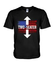 Trump Rally United States Two Seater Shirt V-Neck T-Shirt thumbnail