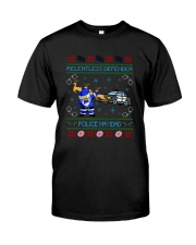 Relentless Defender Police Navidad Guly Shirt Classic T-Shirt front