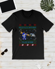 Relentless Defender Police Navidad Guly Shirt Classic T-Shirt lifestyle-mens-crewneck-front-17