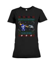 Relentless Defender Police Navidad Guly Shirt Premium Fit Ladies Tee thumbnail