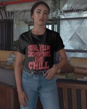 Serial Killer Documentaries And Chill Shirt Classic T-Shirt apparel-classic-tshirt-lifestyle-05