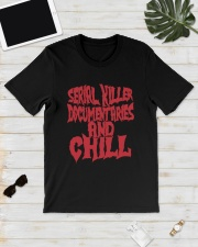 Serial Killer Documentaries And Chill Shirt Classic T-Shirt lifestyle-mens-crewneck-front-17