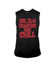 Serial Killer Documentaries And Chill Shirt Sleeveless Tee thumbnail