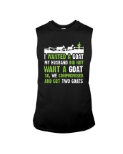 I Wanted A Goat My Husband Did Not Want Goat Shirt Sleeveless Tee thumbnail