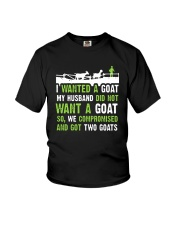 I Wanted A Goat My Husband Did Not Want Goat Shirt Youth T-Shirt thumbnail