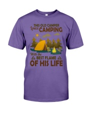 This Old Camper Love Camping With Best Flame Shirt Premium Fit Mens Tee thumbnail