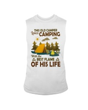 This Old Camper Love Camping With Best Flame Shirt Sleeveless Tee thumbnail