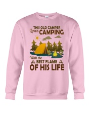 This Old Camper Love Camping With Best Flame Shirt Crewneck Sweatshirt thumbnail