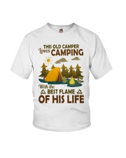 This Old Camper Love Camping With Best Flame Shirt Youth T-Shirt thumbnail