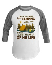 This Old Camper Love Camping With Best Flame Shirt Baseball Tee thumbnail
