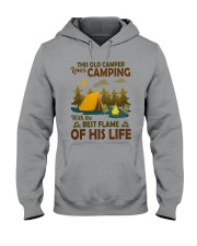 This Old Camper Love Camping With Best Flame Shirt Hooded Sweatshirt thumbnail