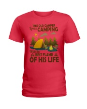 This Old Camper Love Camping With Best Flame Shirt Ladies T-Shirt thumbnail