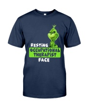 Grinch Resting Occupational Therapist Face Shirt Classic T-Shirt tile