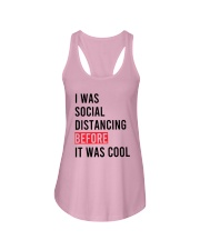 I Was Social Distancing Before It Was Cool Shirt Ladies Flowy Tank thumbnail