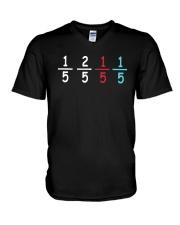 15 25 15 15 Shirt V-Neck T-Shirt thumbnail