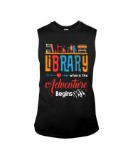 Library Where The Adventure Begins Shirt Sleeveless Tee thumbnail