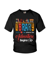 Library Where The Adventure Begins Shirt Youth T-Shirt thumbnail