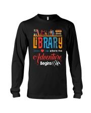 Library Where The Adventure Begins Shirt Long Sleeve Tee thumbnail