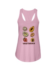 Vegan Vagitarian Shirt Ladies Flowy Tank thumbnail