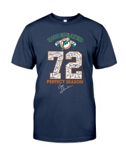 Undefeated 1972 17 0 72 Perfect Season Shirt Classic T-Shirt tile