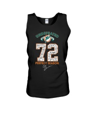 Undefeated 1972 17 0 72 Perfect Season Shirt Unisex Tank thumbnail