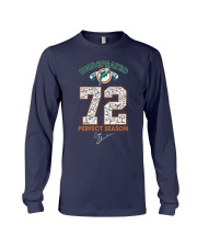 Undefeated 1972 17 0 72 Perfect Season Shirt Long Sleeve Tee tile