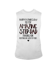 Happy Father's Day To My Amazing Step-dad Shirt Sleeveless Tee thumbnail