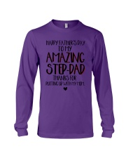 Happy Father's Day To My Amazing Step-dad Shirt Long Sleeve Tee thumbnail