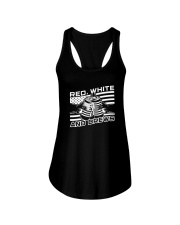 Red White And Brews Shirt Ladies Flowy Tank thumbnail