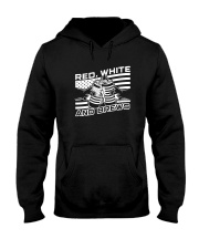 Red White And Brews Shirt Hooded Sweatshirt thumbnail